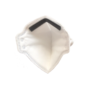 Personal Protective Equipment FFP3 face mask covering inside
