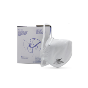 Personal Protective Equipment FFP3 face mask covering with box