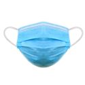 Personal Protective Equipment Standard 3-ply face mask covering