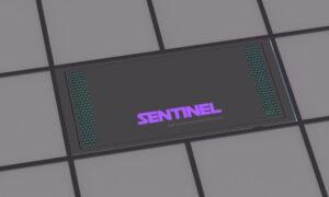 Sentinel Ceiling Air Purifier Unit dark colour