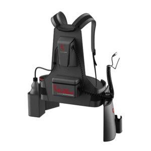 motorscrubber disinfectant sprayer backpack rear